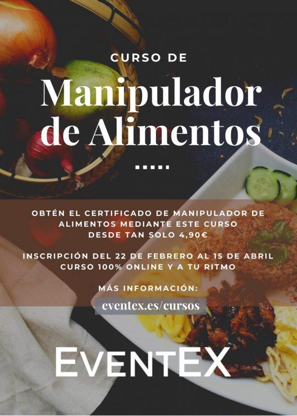 Curso de Manipulador de Alimentos EventEX